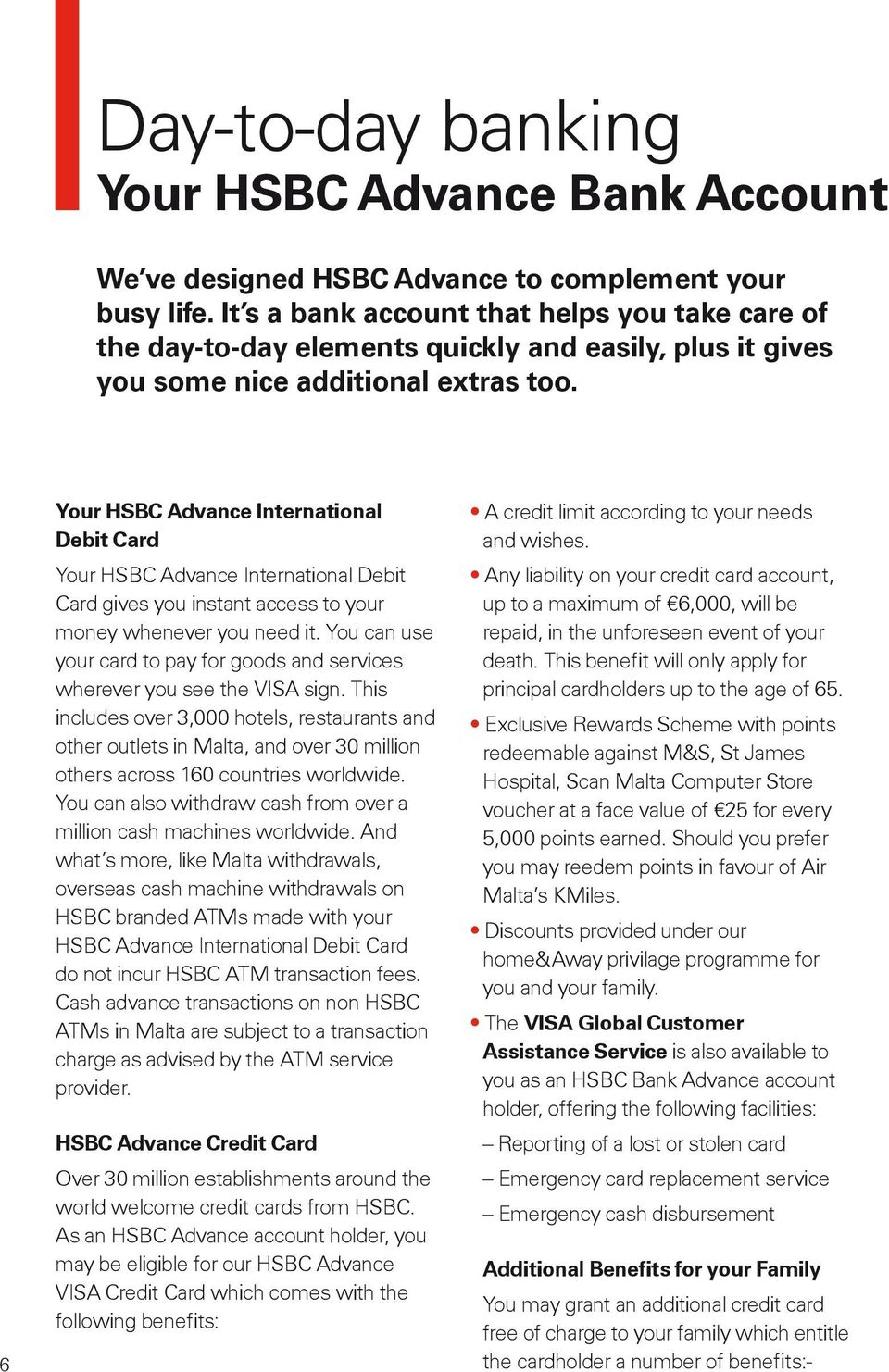 Introducing HSBC Advance Banking that puts you a step ahead