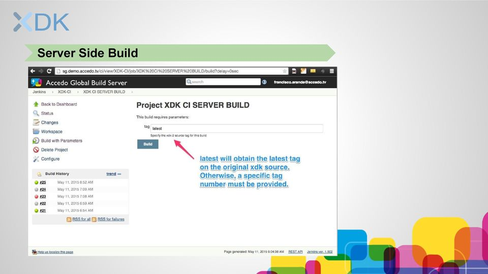 Continuous Integration and Delivery  manage development