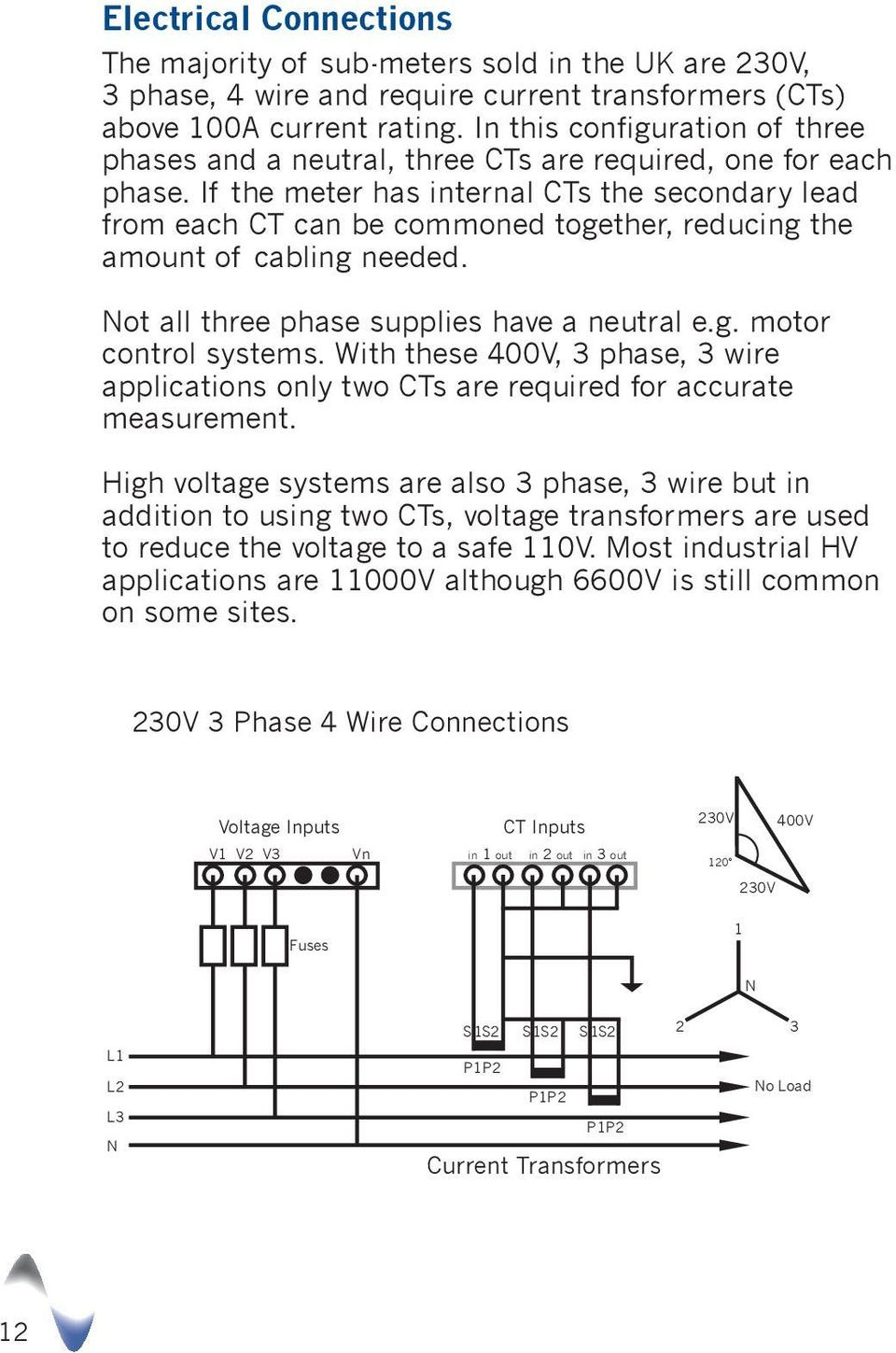 240 Volt 3 Phase Wiring Diagram For Cts And Meter Socket Ct Produced By Alan Ward Pdf If The Has Internal Secondary Lead From Each