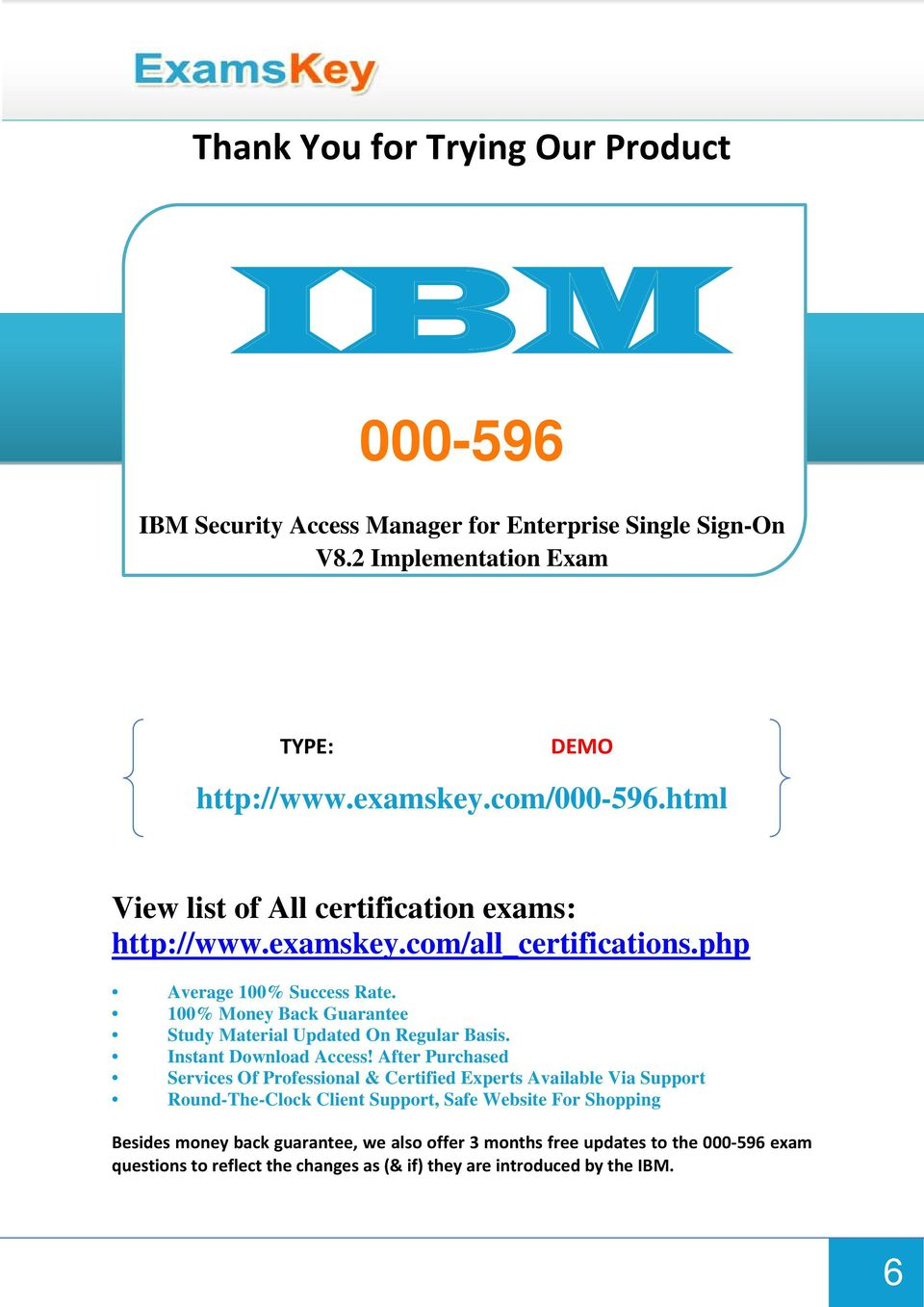 100% Money Back Guarantee Study Material Updated On Regular Basis. Instant Download Access!