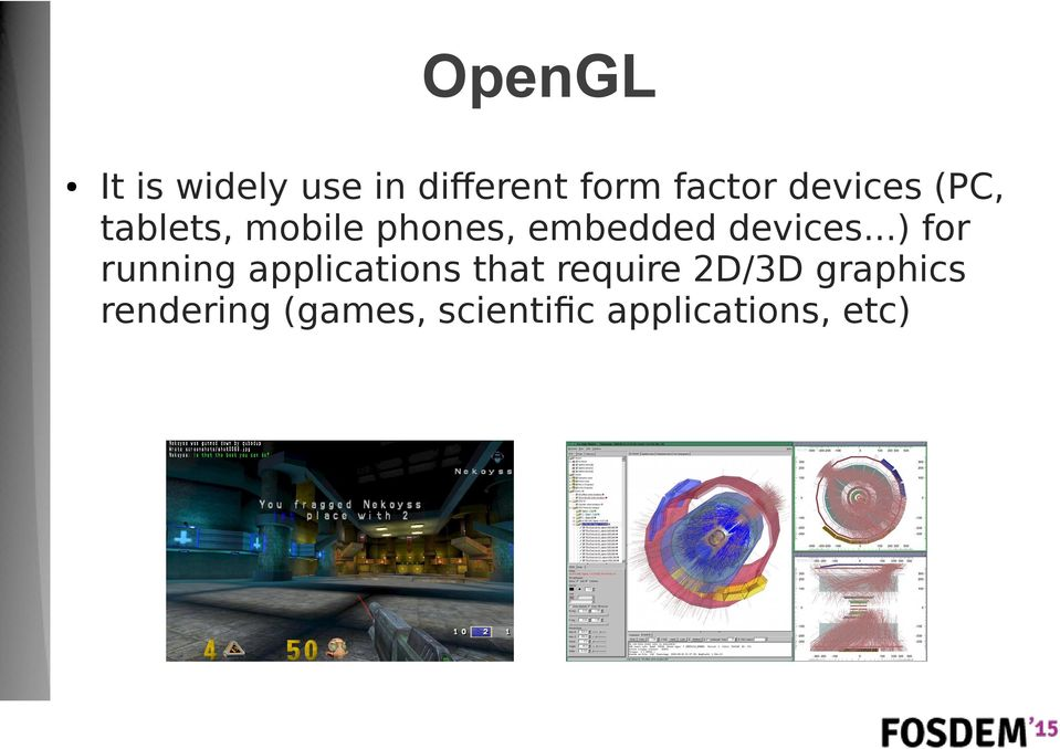 How to test OpenGL drivers with Free Software - PDF
