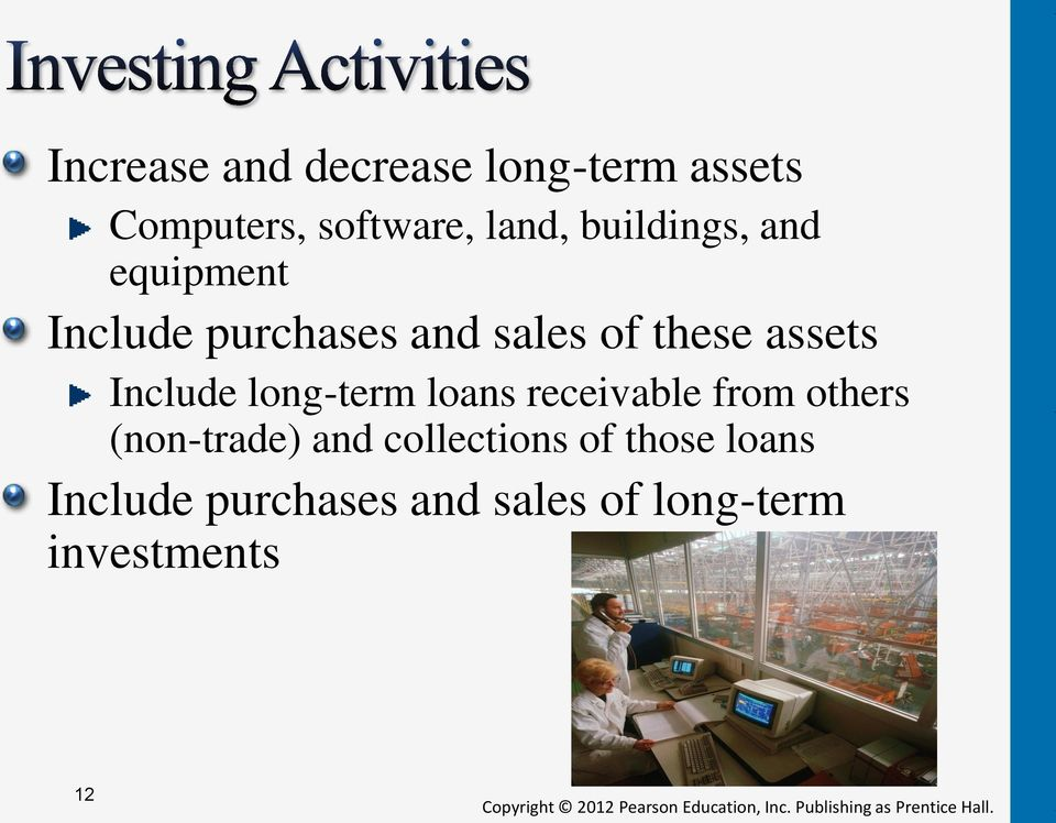 Include long-term loans receivable from others (non-trade) and