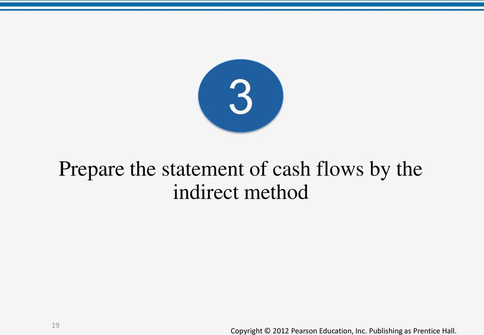 cash flows by