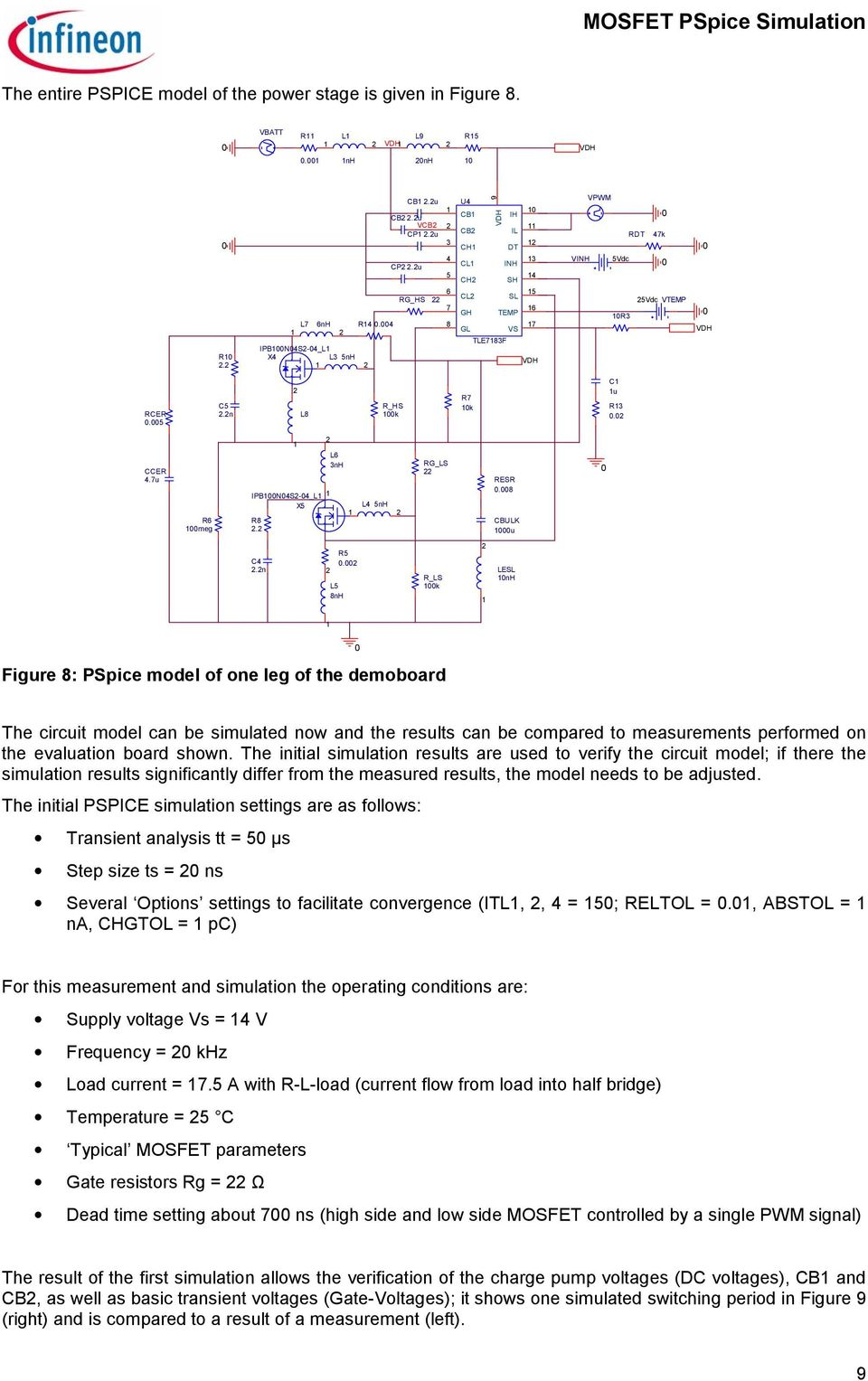 Simulation With Pspice Pdf Voltage Converter Circuit Using Tda2003 2n 2 L8 R Hs 1k R7 C1 1u R132 Ccer 47u R6