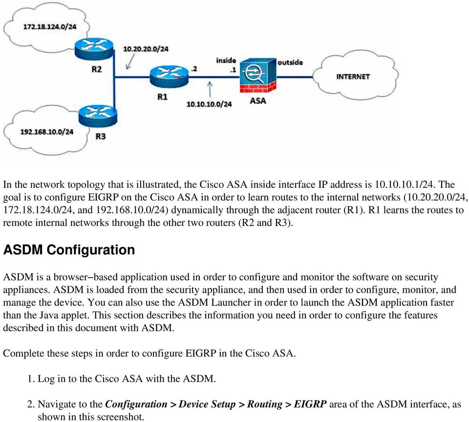 Setup Cisco Asa