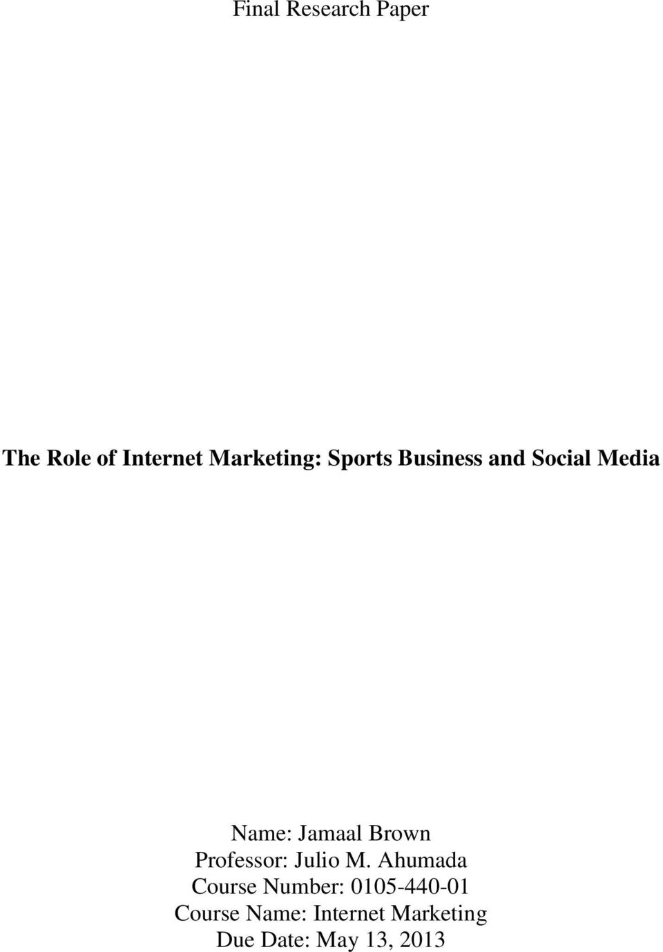 role of internet in media