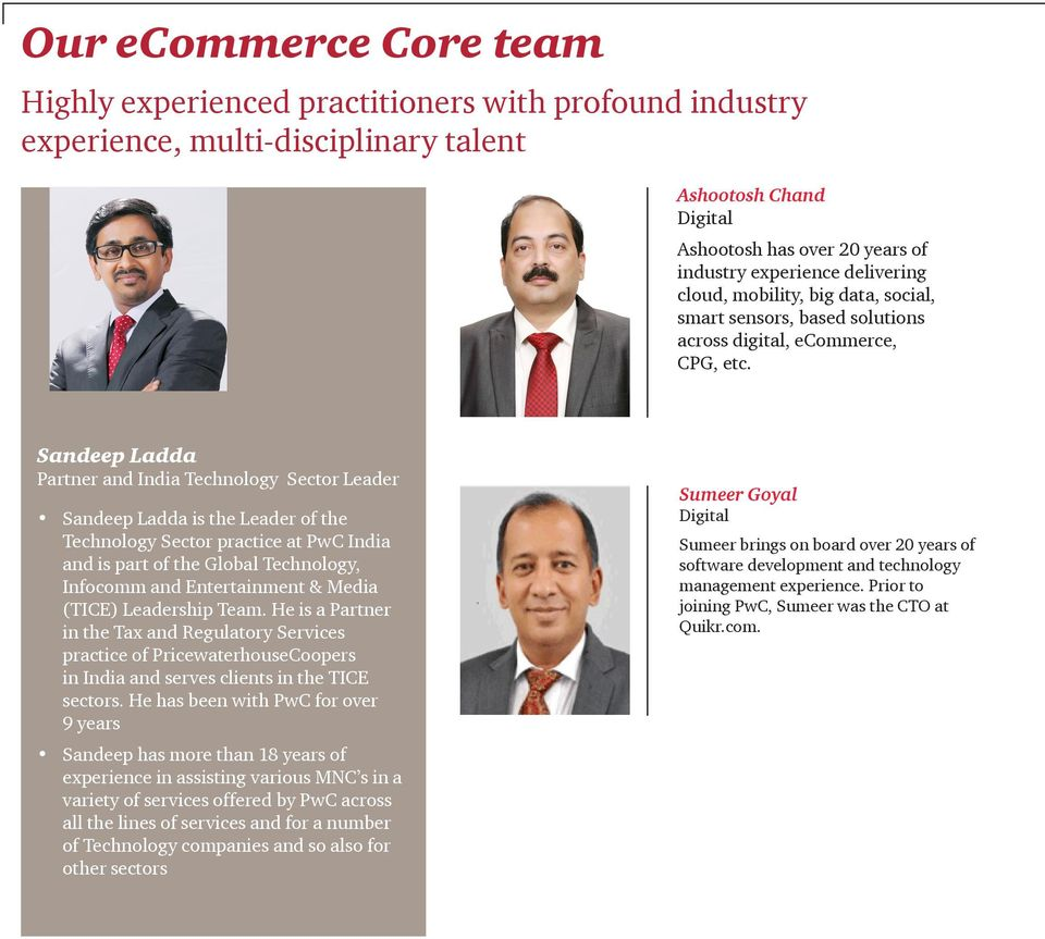 ecommerce in India : Drivers and Challenges The PwC India