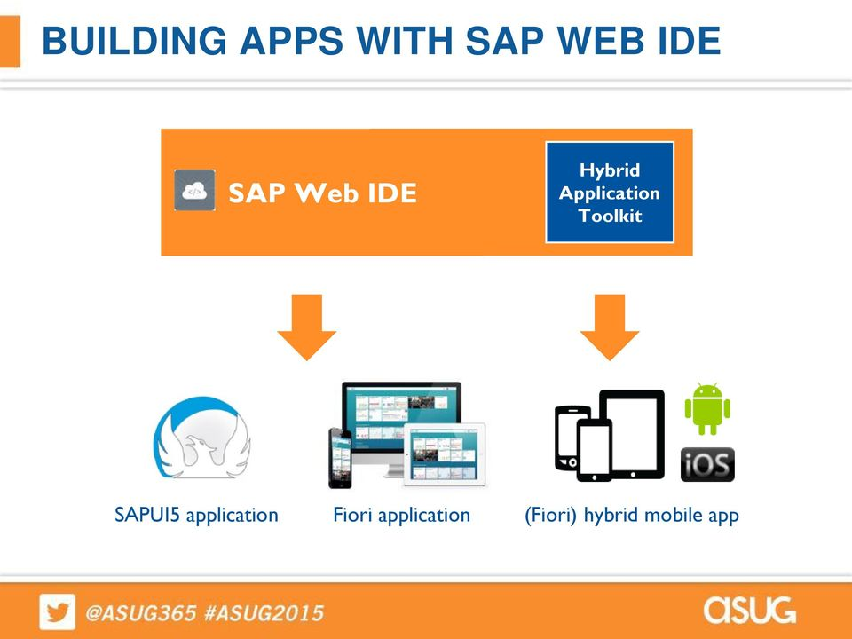 Build your own Fiori hybrid mobile app rapidly using SAP Web IDE