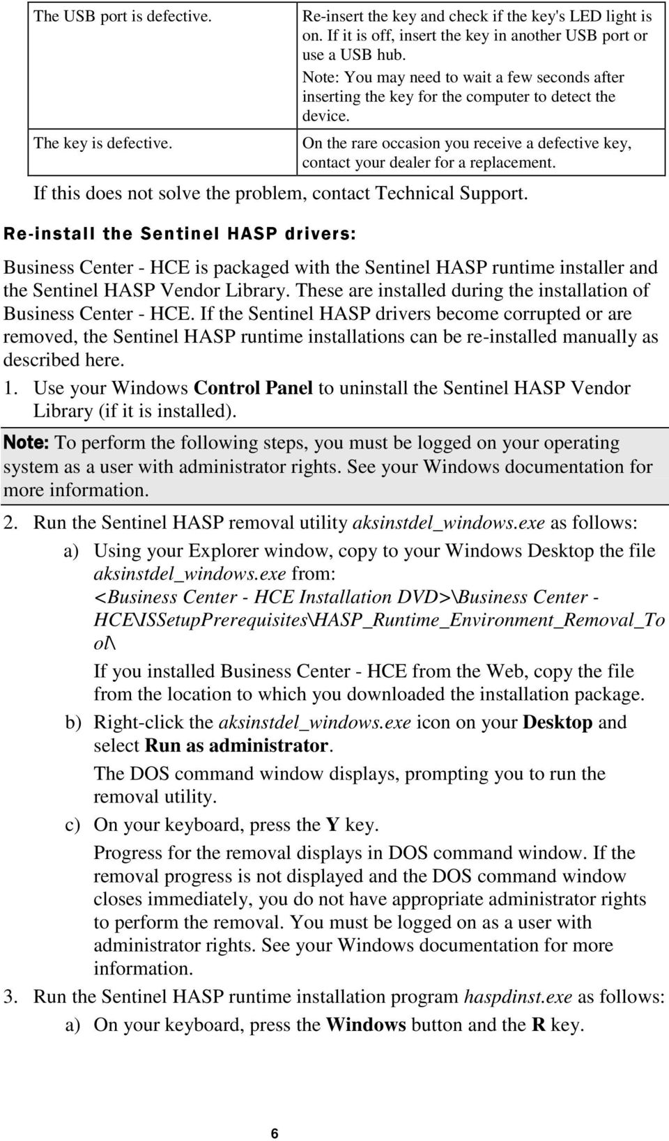HASP Troubleshooting Guide - PDF