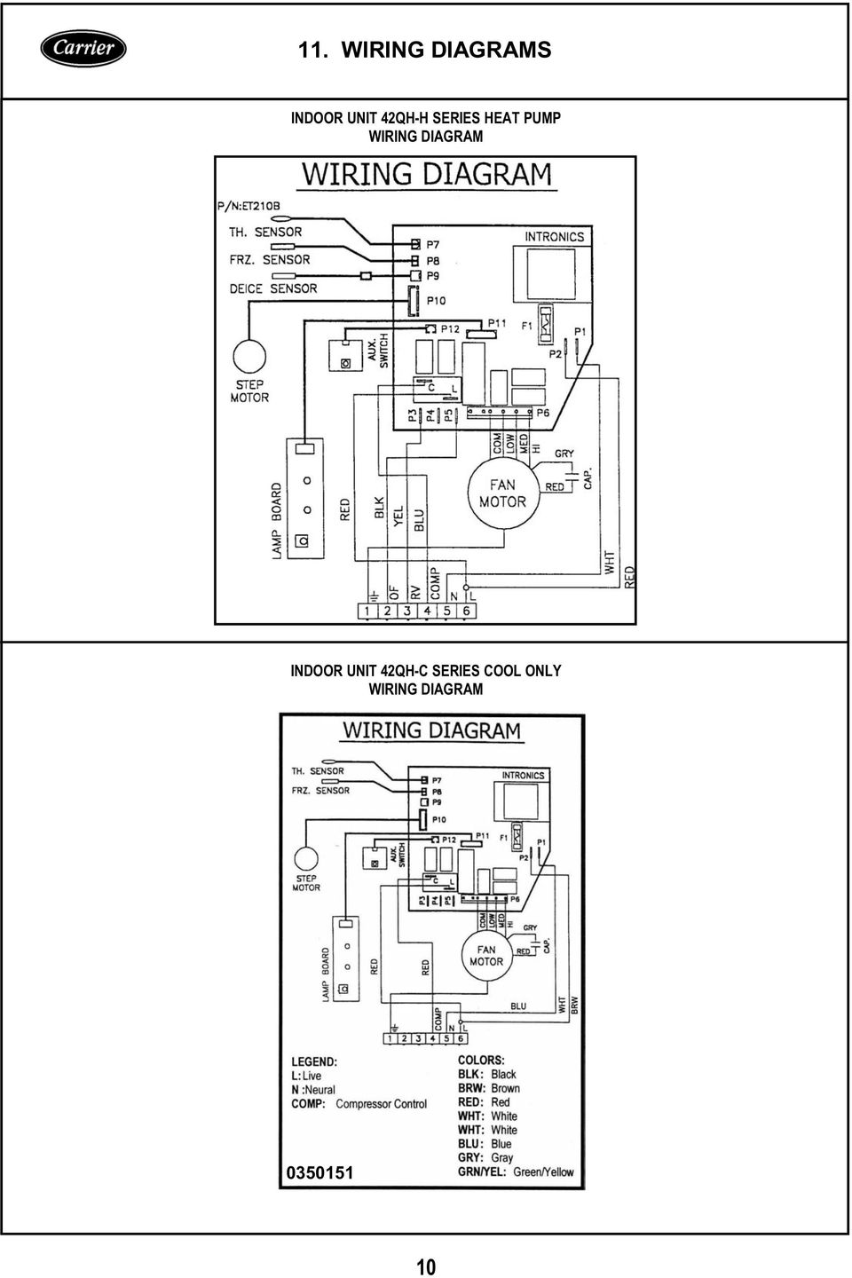 Service Maintenance Manual Pdf Wiring Diagram Cold Room Indoor Unit 42qh C