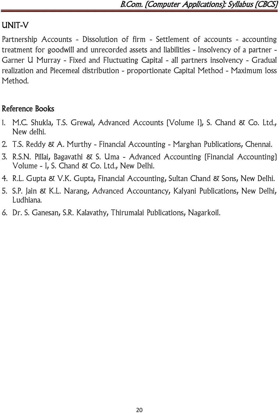 financial accounting book by ts reddy and murthy free download