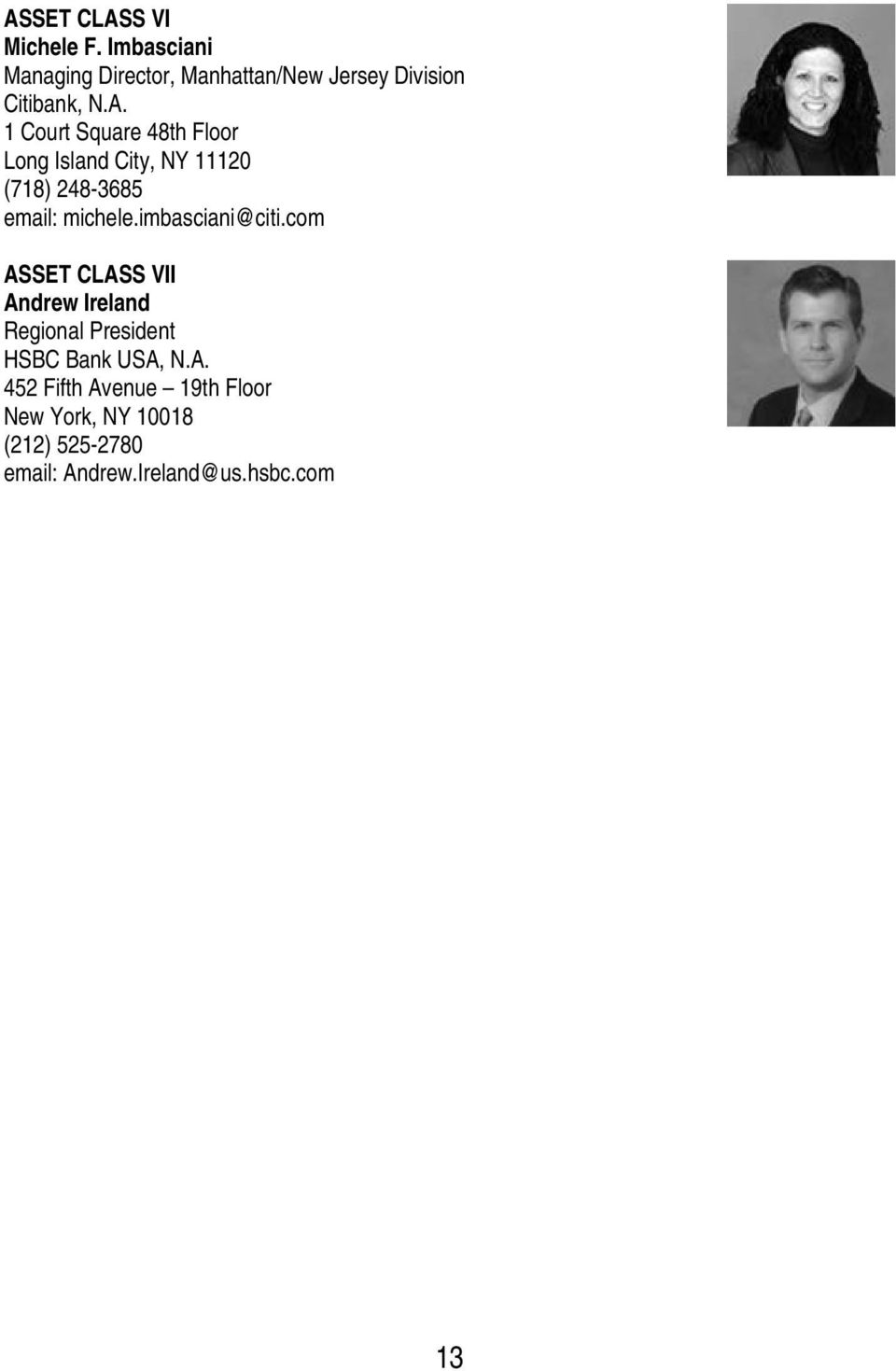 New York Bankers Association Directory  Main Number Address