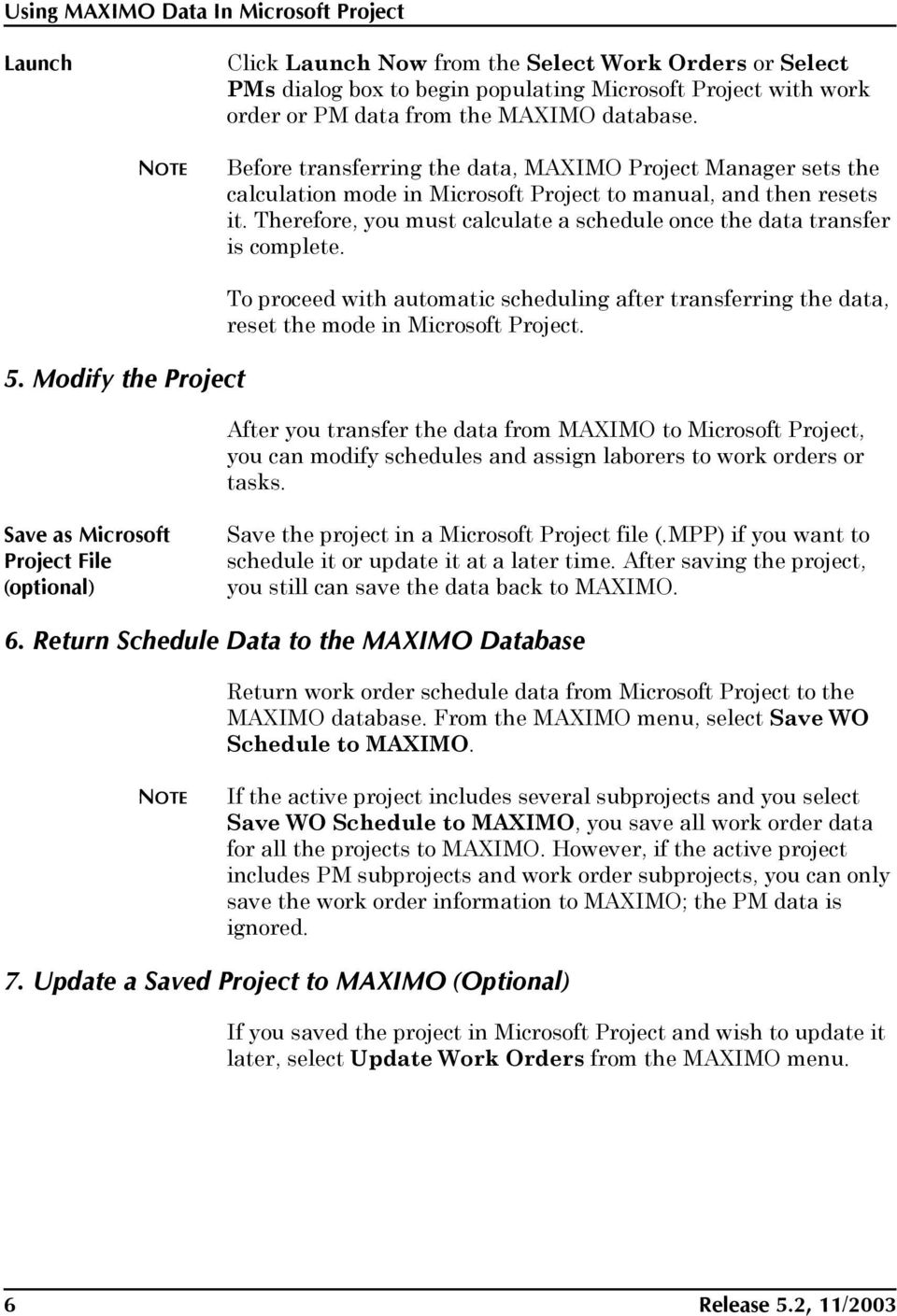 maximo project manager user s guide pdf rh docplayer net Manuals in PDF User Manual Template