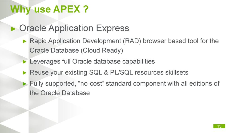 Oracle Application Express and Oracle E-Business Suite  Love