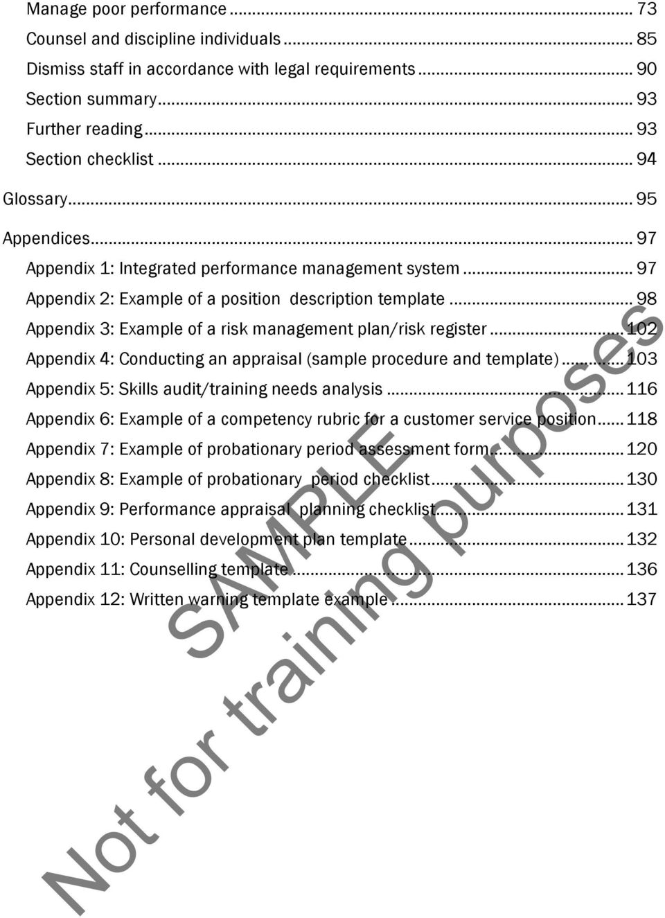 98 Appendix 3 Example Of A Risk Management Plan Register