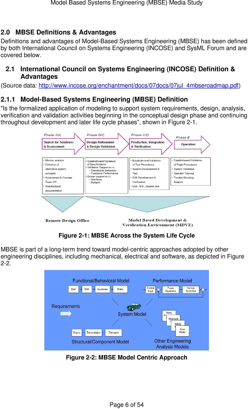 Model Based Systems Engineering Mbse Media Study Prepared By Julia Murray Pdf Free Download