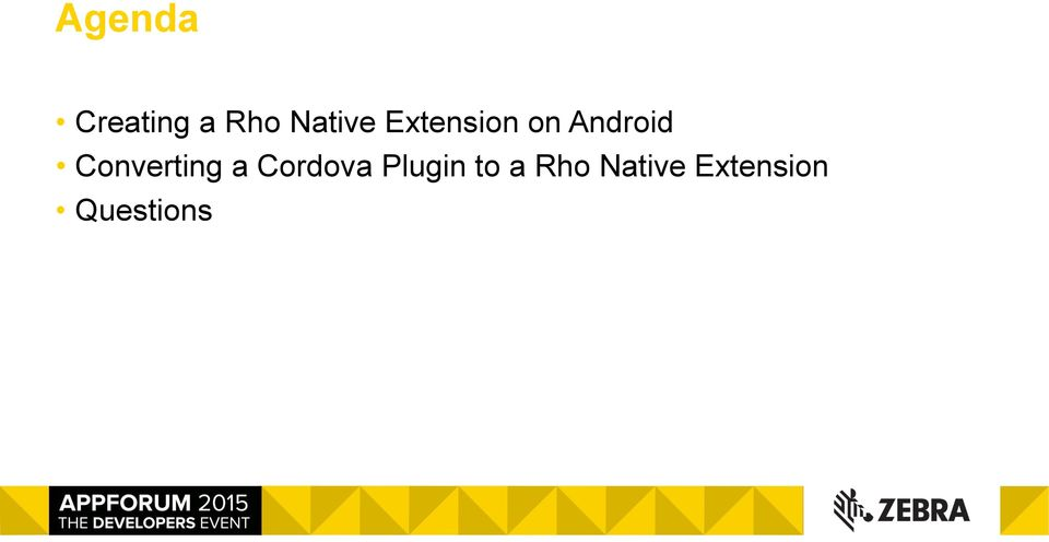 Using Extensions or Cordova Plugins in your RhoMobile Application