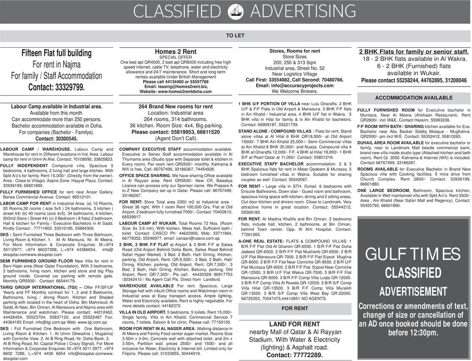 CLASSIFIED  Situation Wanted Contd  on Following Page  2 Tuesday