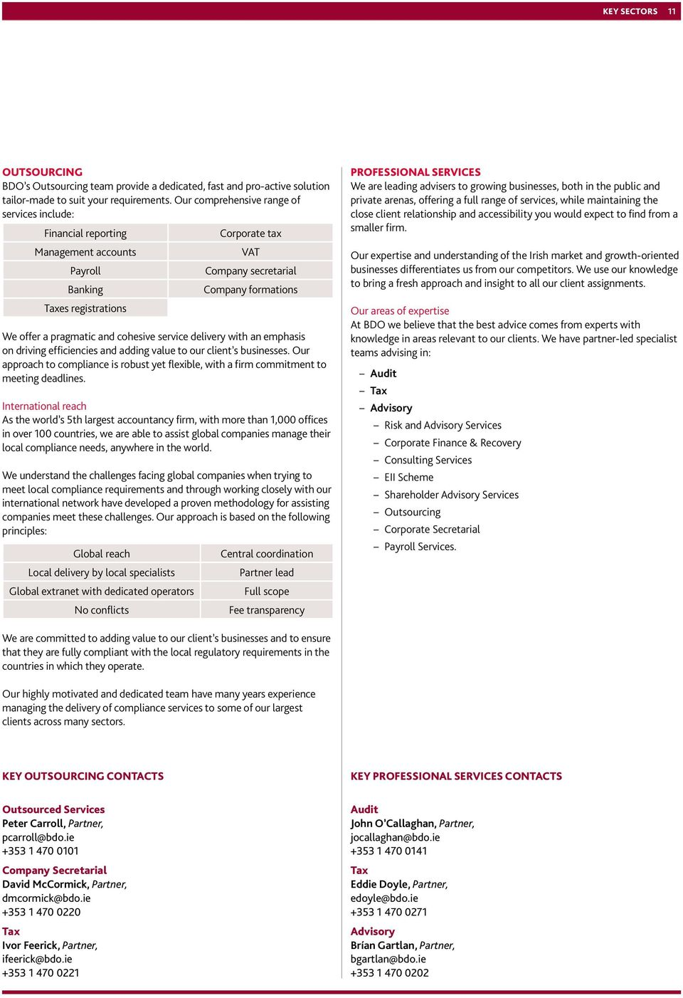 BDO WHO WE ARE & WHAT WE DO - PDF