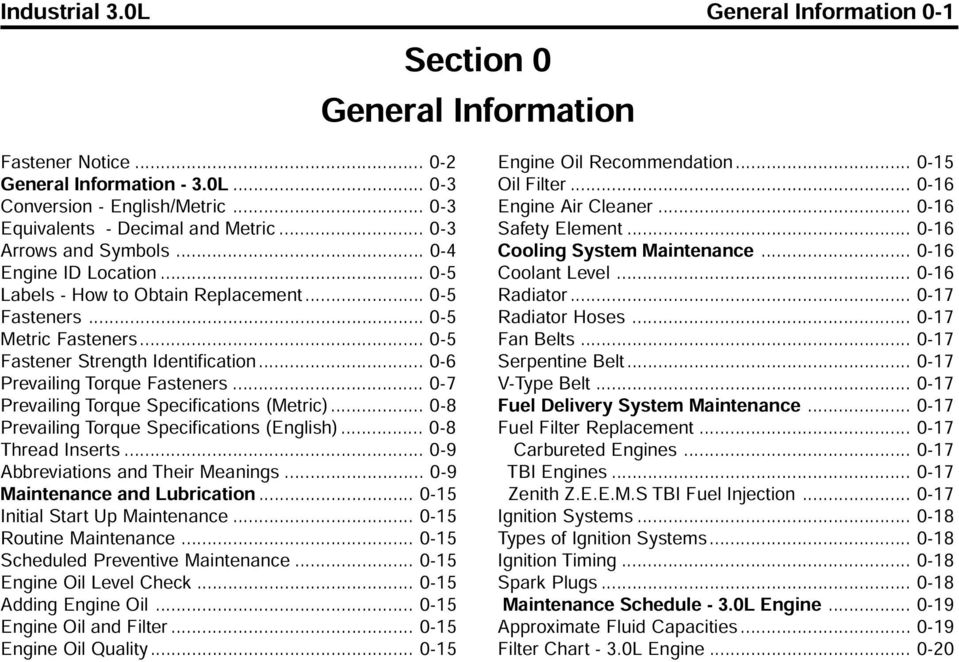 3 0l industrial engine service manual