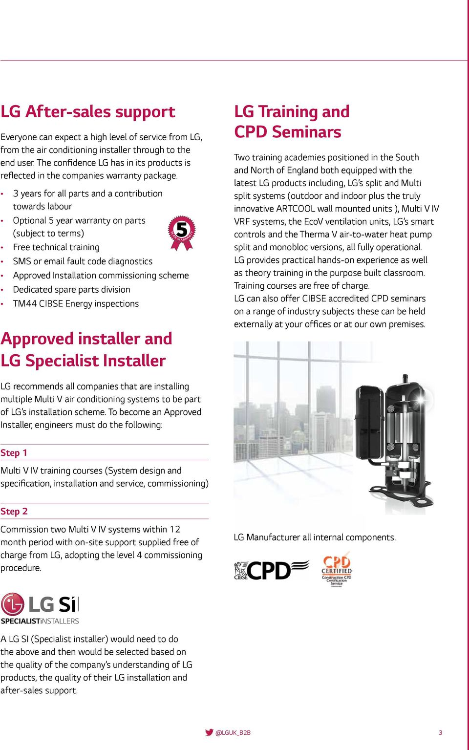 LG Air Conditioning & Energy Solutions Price List - PDF