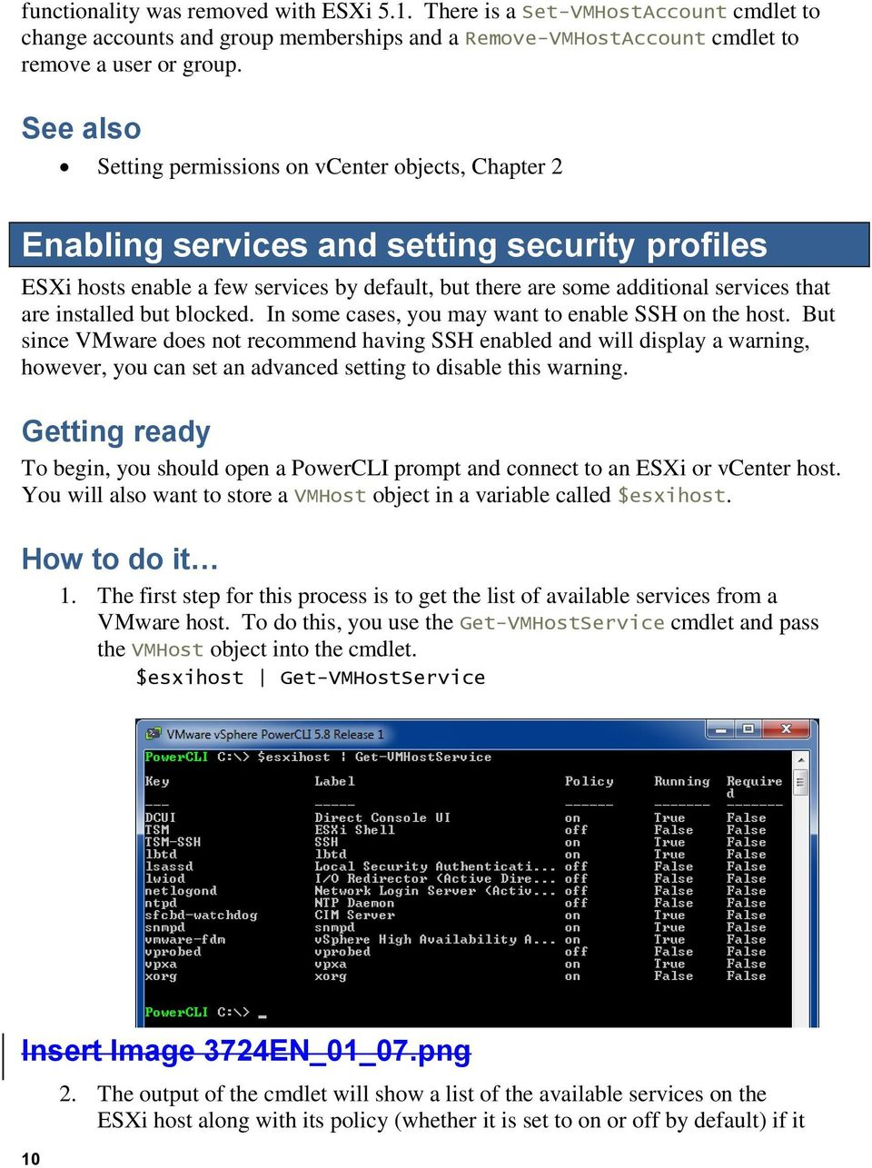 Configuring the Basic Settings of an ESXi Host with PowerCLI