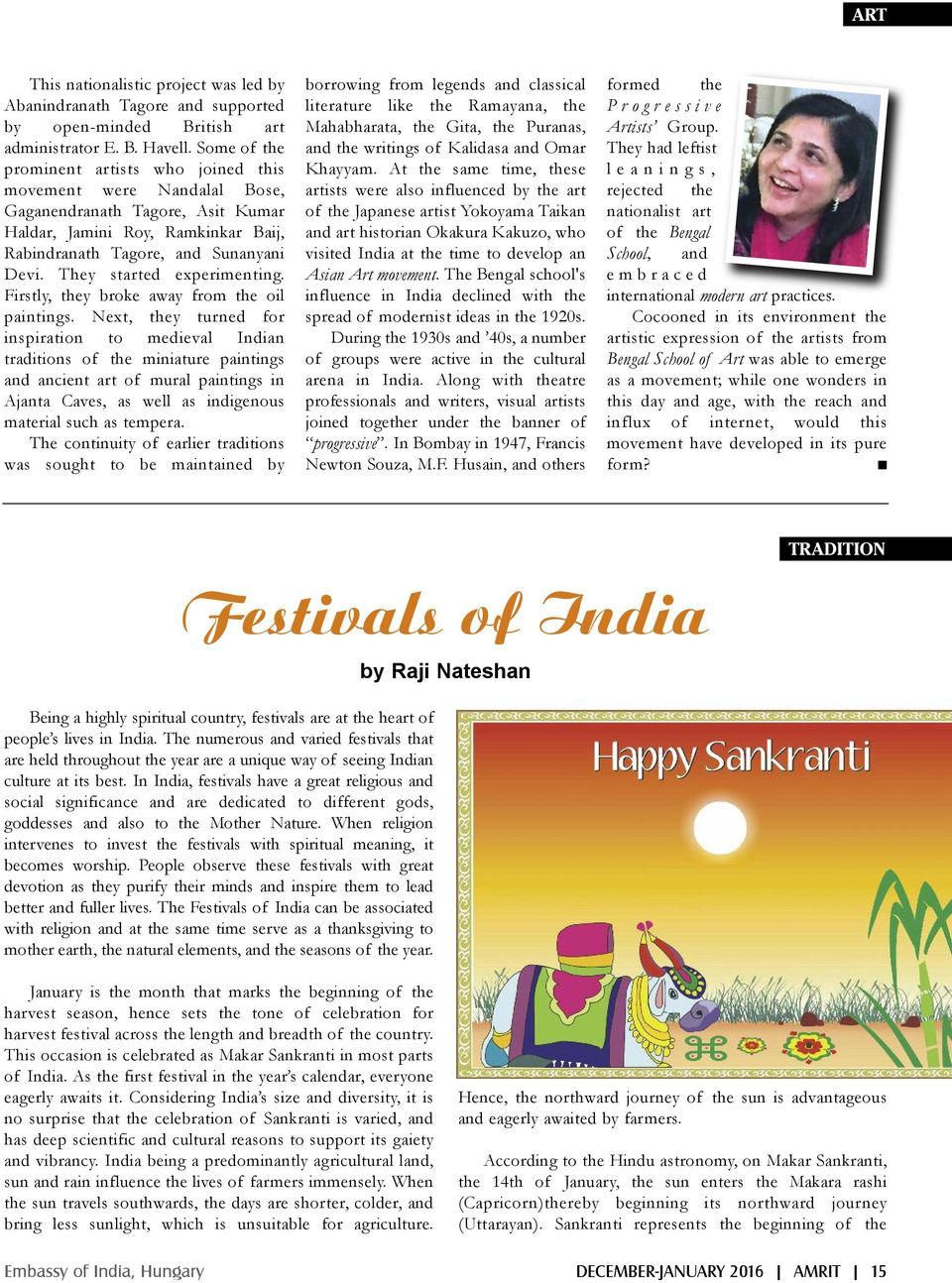 Contents  AMRIT Vol  3  Issue 3, December 2015-January 2016 Bi