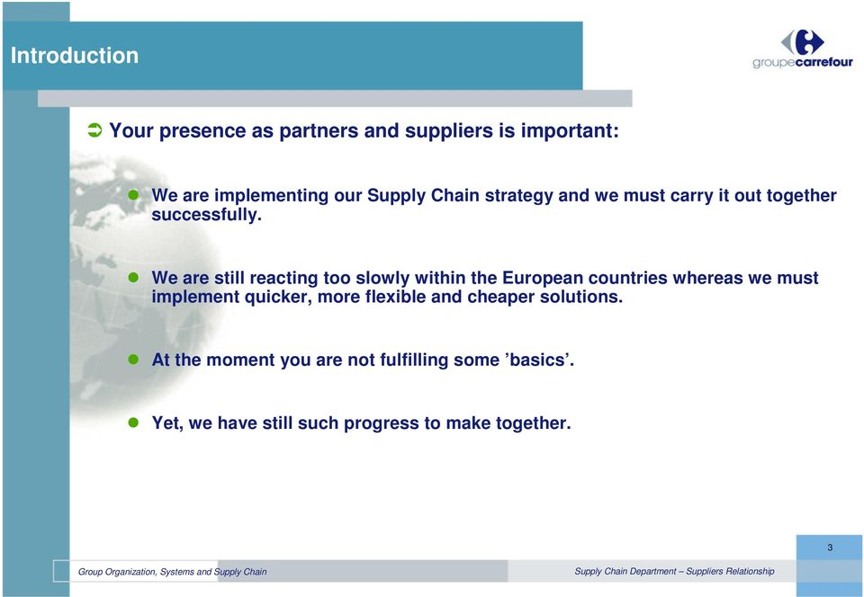 Carrefour Group Supply Chain Strategy - PDF