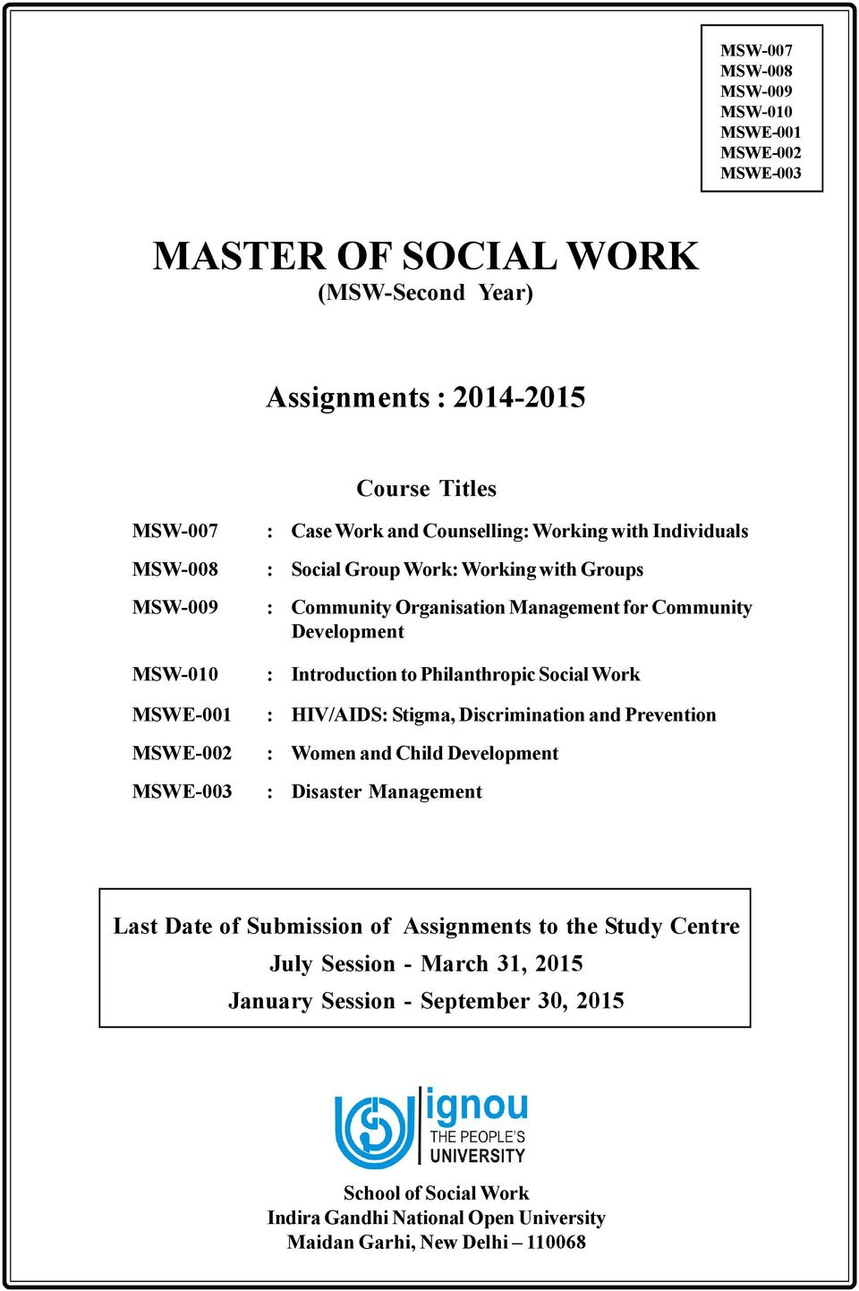 counselling in social case work