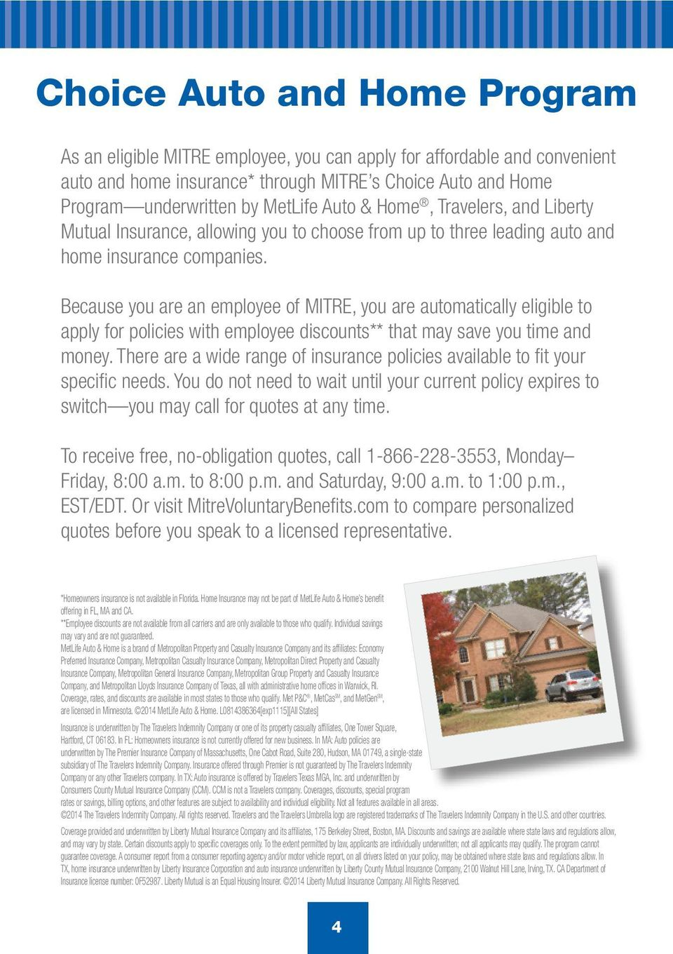 Voluntary Benefits for MITRE Employees - PDF