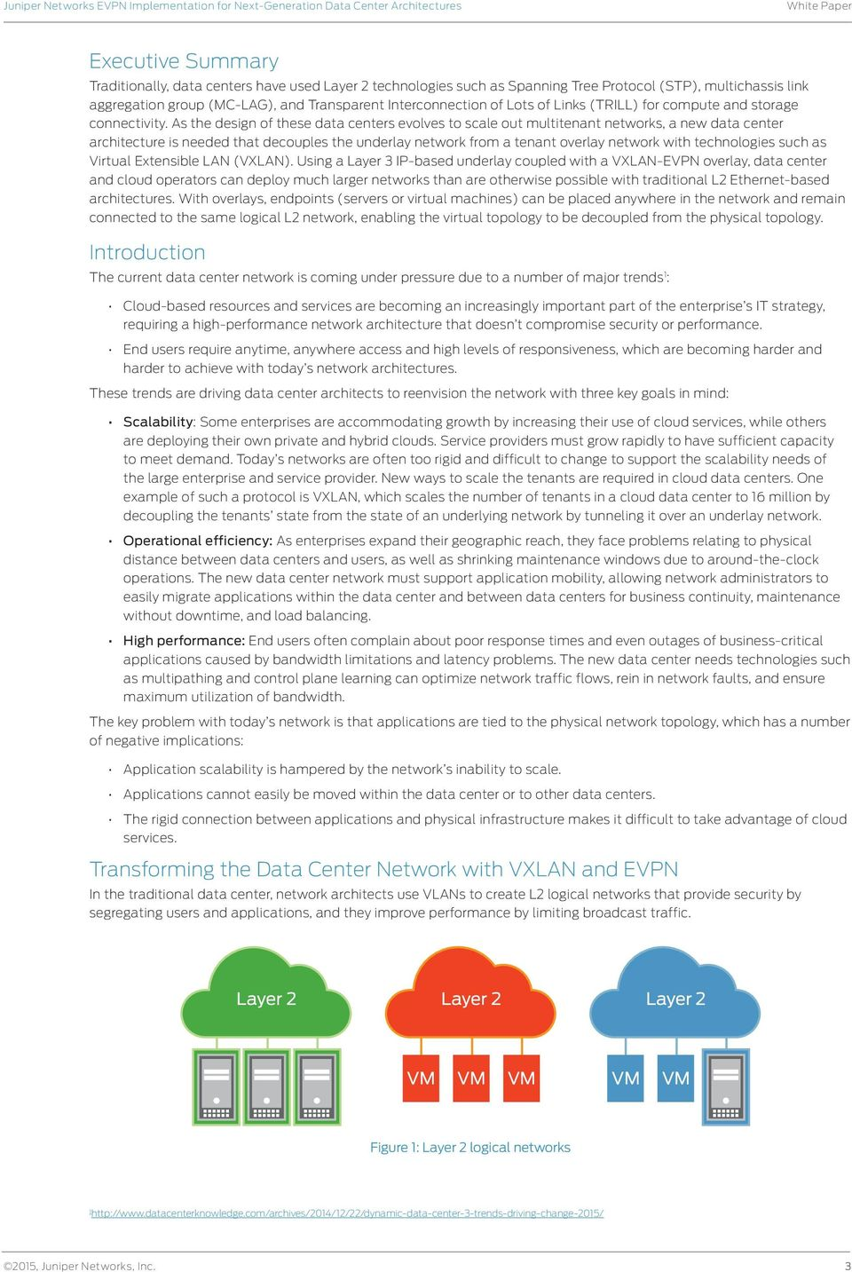Juniper Networks EVPN Implementation for Next-Generation