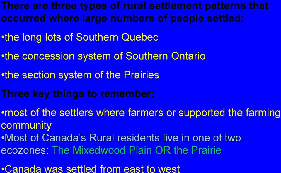 Rural settlement patterns pdf key things to remember most of the settlers where farmers or supported the farming community publicscrutiny Choice Image