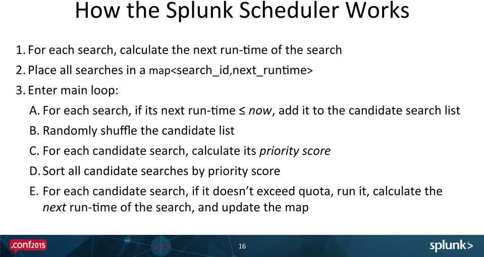Making the Most of the New Splunk Scheduler - PDF