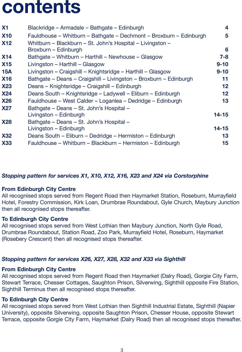 Express Services Bus Times Linking Edinburgh And Glasgow