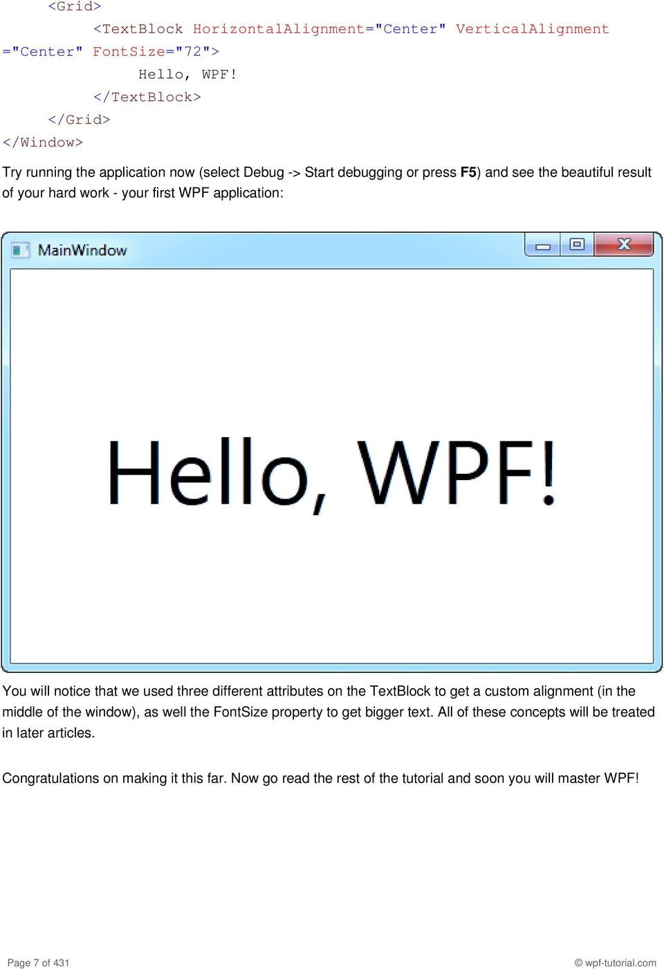 1  WPF Tutorial Page 1 of 431 wpf-tutorial com - PDF