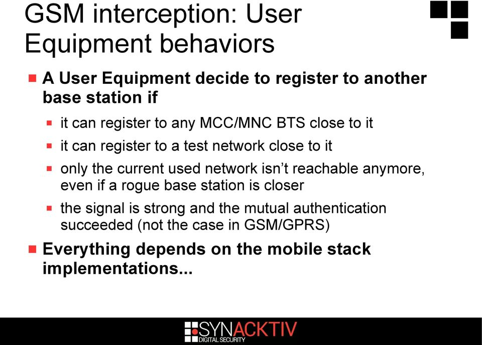 Mobile Security  Practical attacks using cheap equipment