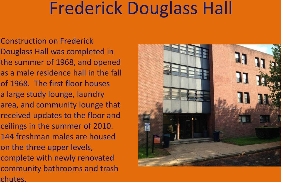 Office of Residence Life  Welcome to the Lincoln University