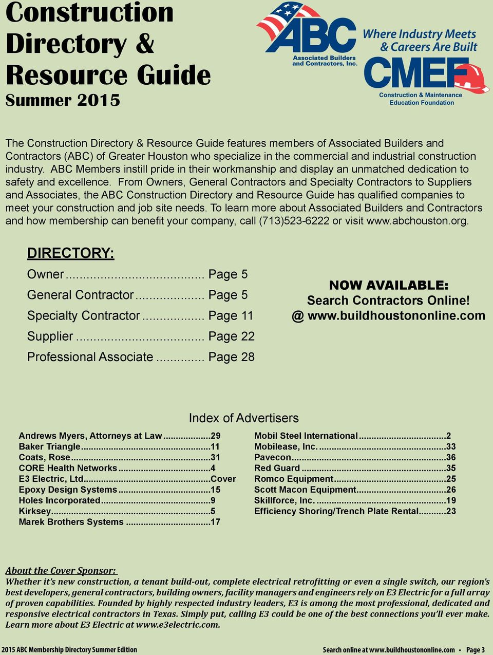 CONSTRUCTION DIRECTORY & RESOURCE GUIDE - PDF