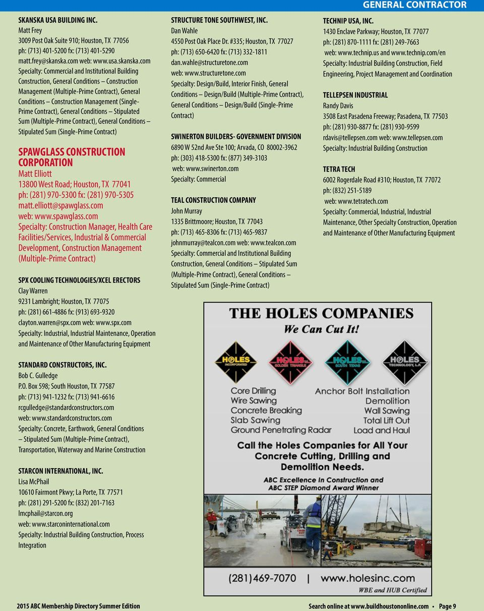 Us Construction Companies Directory