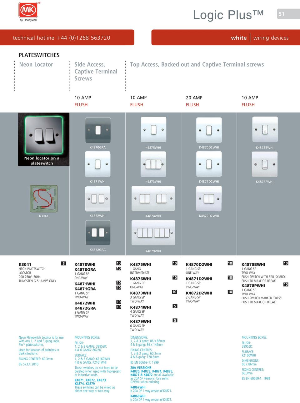 Logic Plus. wiring devices white - PDF