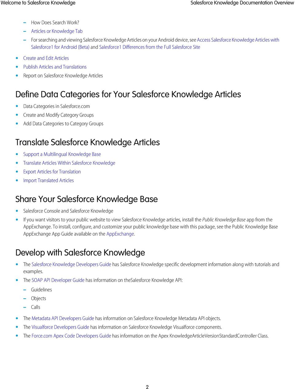 Complete Guide to Salesforce Knowledge - PDF