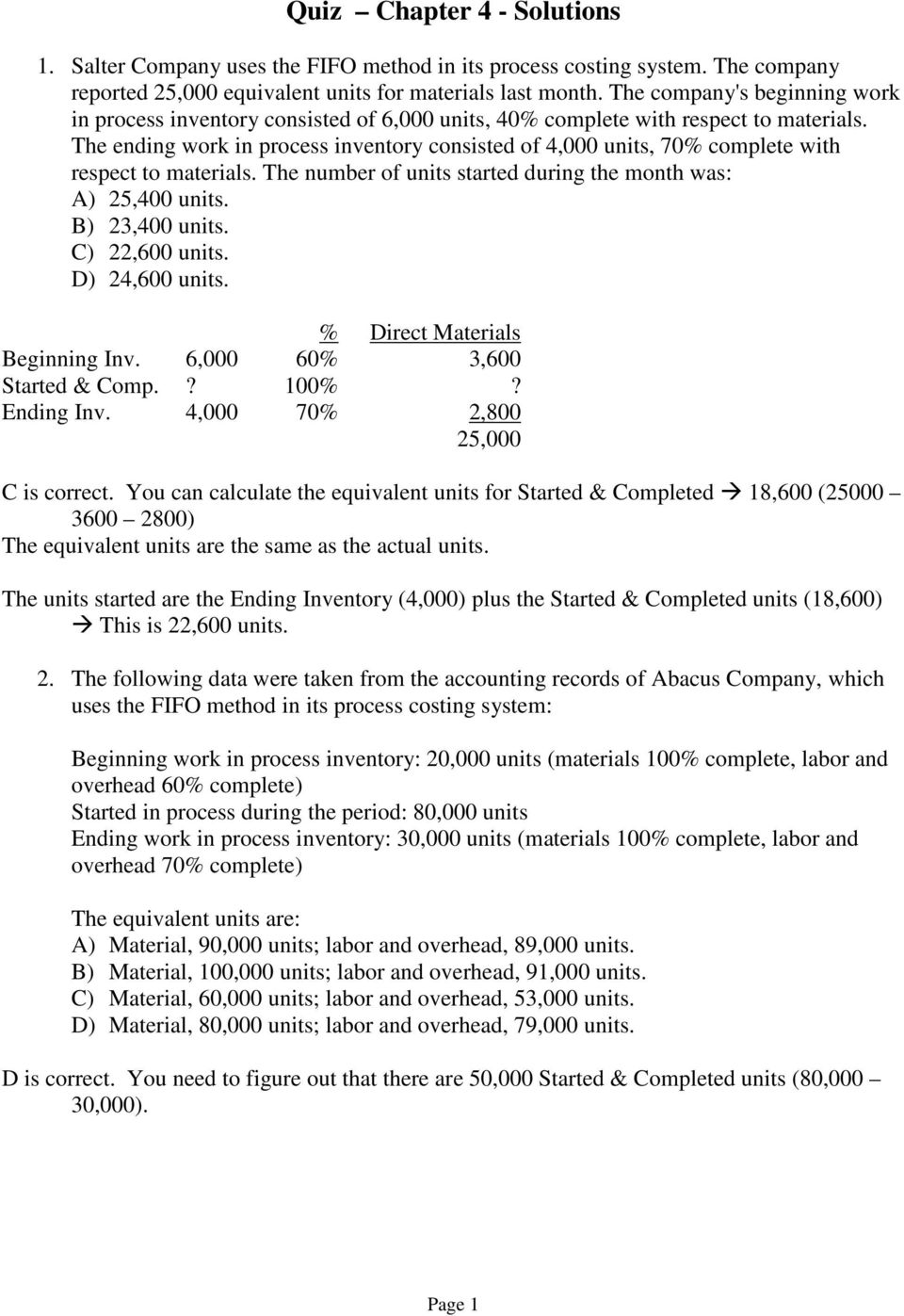 Quiz chapter 4 solutions pdf the ending work in process inventory consisted of 4000 units 70 complete with respect fandeluxe Images