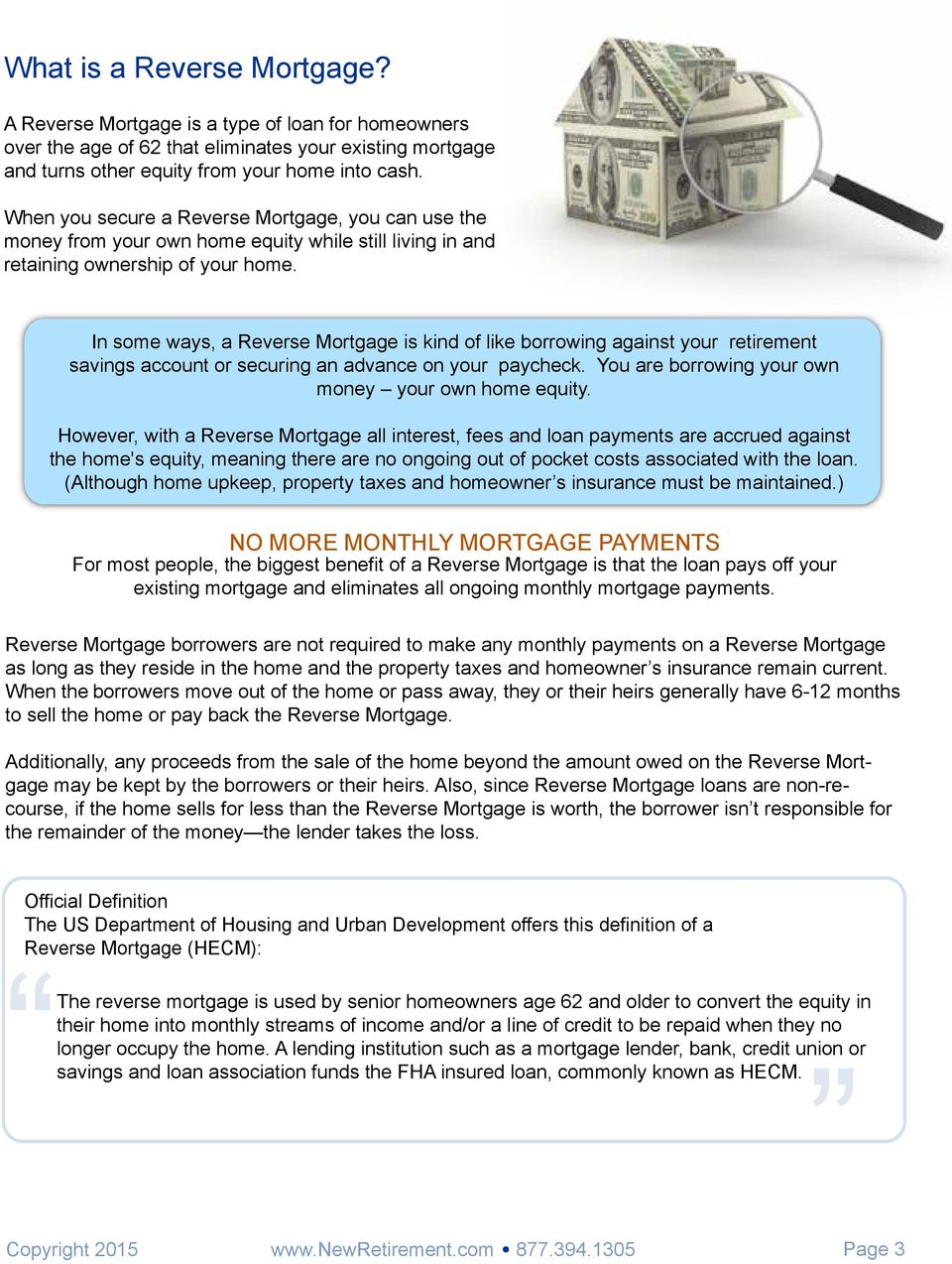 is a reverse mortgage right for you? - pdf