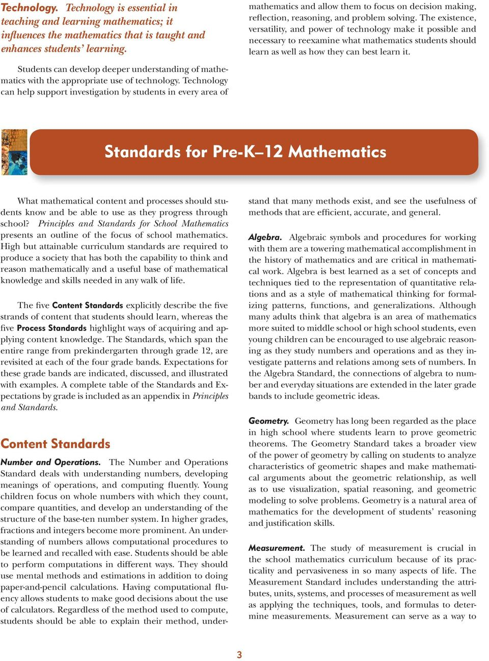 Executive Summary Principles And Standards For School Mathematics Pdf