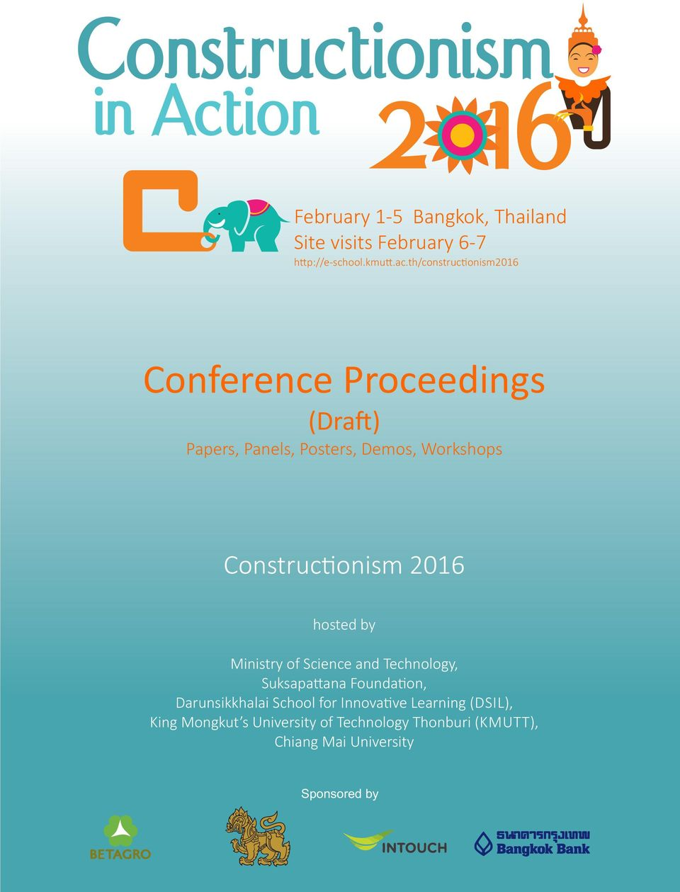 Constructionism. Conference Proceedings (Dra ) Papers, Panels ...