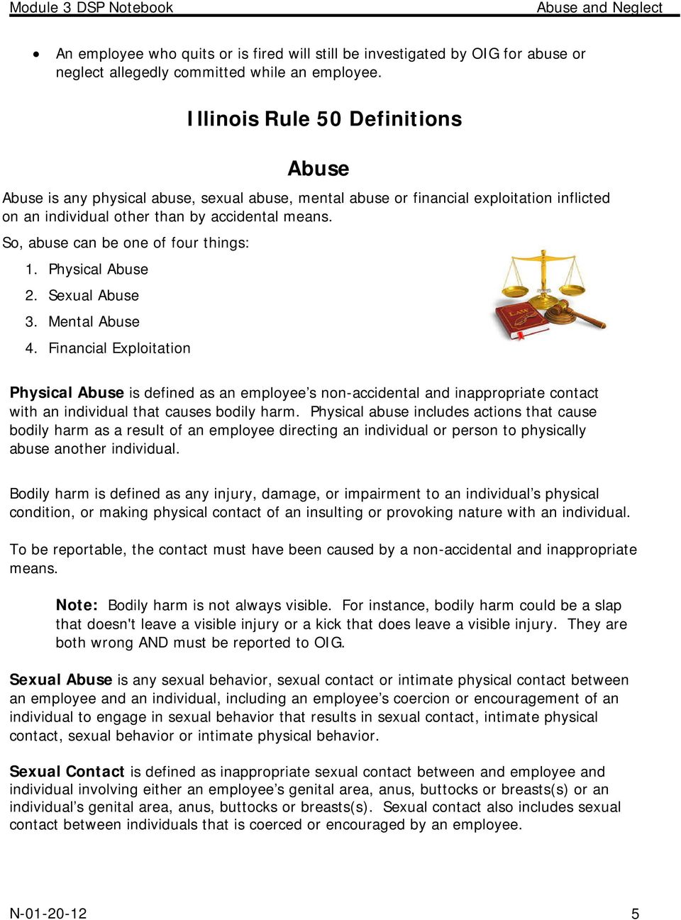abuse and neglect recognition, prevention and intervention - pdf