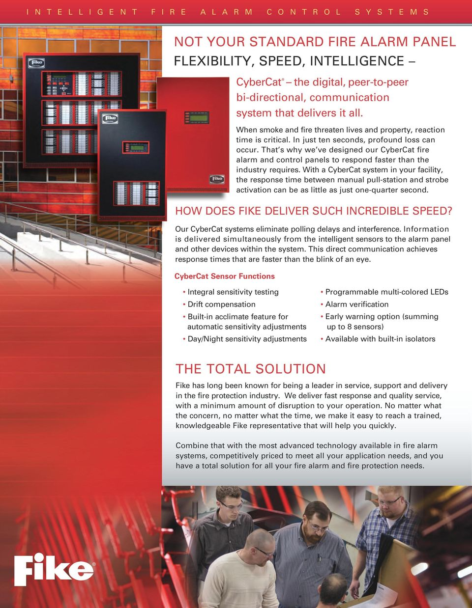 FAST, INTELLIGENT FIRE ALARM SYSTEMS THAT DELIVER IT ALL - PDF