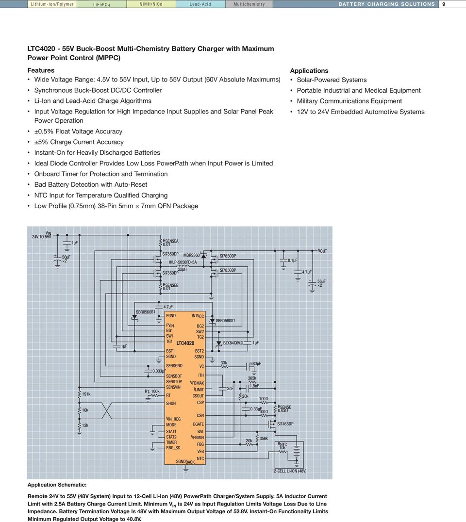 Battery Charging And Management Solutions Pdf Sealed Lead Acid Charger Dual Step Current Mode