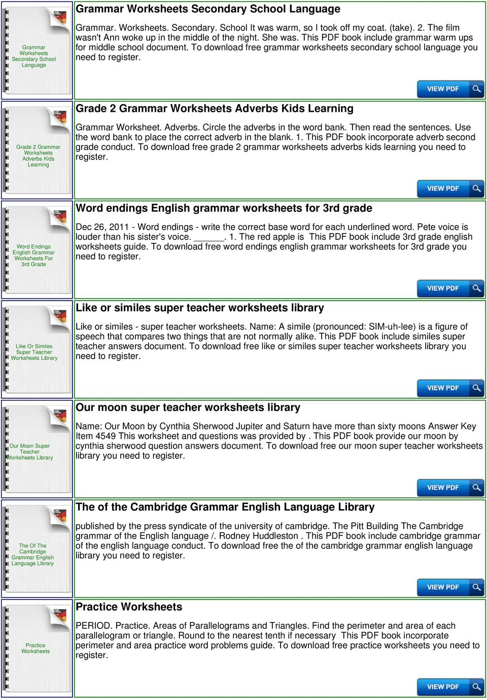 Esl Library Grammar Practice Worksheets Pdf