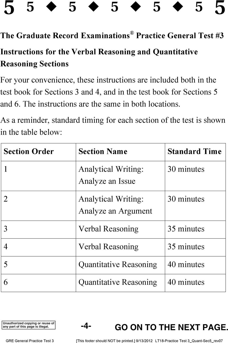 Practice General Test # 3  Large Print (18 point) Edition